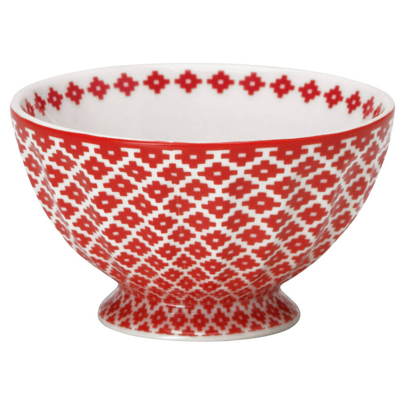 GreenGate French Bowl - Medium Judy Red