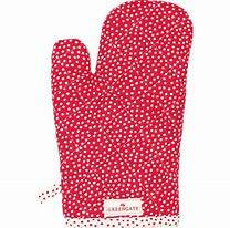 GreenGate Grill Glove Dot Red