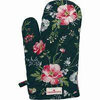 GreenGate Grill Glove Meadow Black