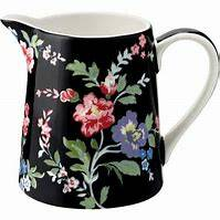 GreenGate Jug Isobel Black 0,5 Liter