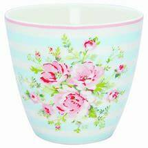 GreenGate Latte Cup Nellie Pale Blue - Limited Edition