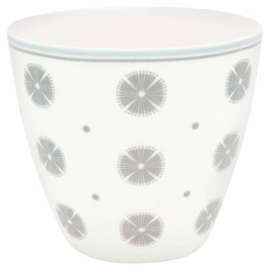 GreenGate Latte Cup Saga White