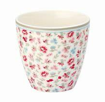 GreenGate Latte Cup Tilly White - 10 Years Anniversary - Limited Edition