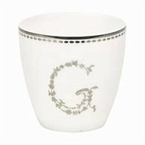 GreenGate Mini Latte Cup G Silver H 6.5 cm
