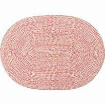 GreenGate Placemat Oval Pale Pink
