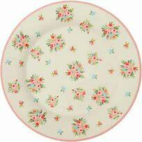 GreenGate Plate Abigail White - Limited Edition