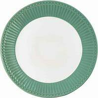 GreenGate Plate Alice Dusty Green Diameter 23 cm