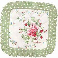 GreenGate Pot Holders Mary White Set of 2