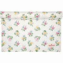 GreenGate Table Runner Mira White 45 x 140 cm