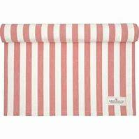 GreenGate Table Runner Rigmor Coral 45 x 140 cm