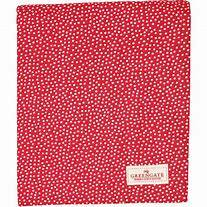 GreenGate Tablecloth Dot Red 250 x 145 cm