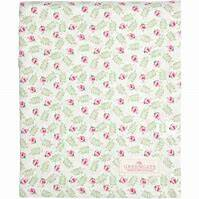 GreenGate Tablecloth Lily Petit White 145 x 250 cm
