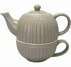 GreenGate Tea For One Alice Warm Grey
