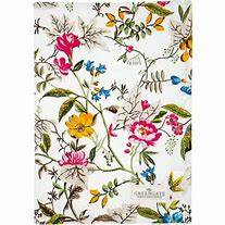 GreenGate Tea Towel Ellen White