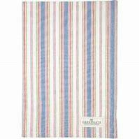 GreenGate Tea Towel Imke Dusty Blue