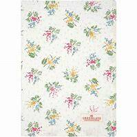 GreenGate Tea Towel Mira White