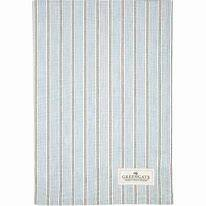 GreenGate Tea Towel Tova Pale Blue