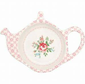 GreenGate Teabag Holder Gabby White6.25