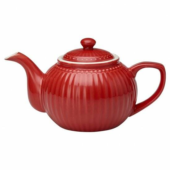 GreenGate Teapot - Alice Red 1 L