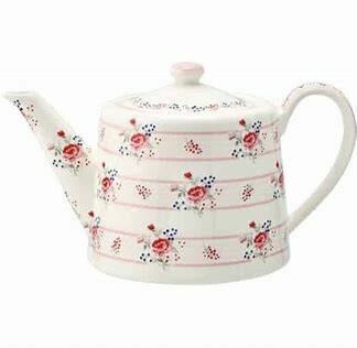 GreenGate Teapot Fiona Pale Pink 40.20