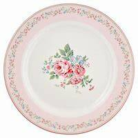 Greengate Dinner plate marley pale pink