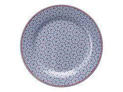 GreenGate Plate 20 cm Juno Dusty Blue