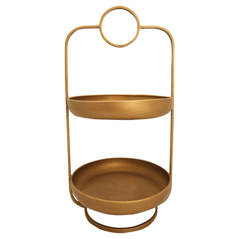 GreenGate Etagere 2 Tiers Gold