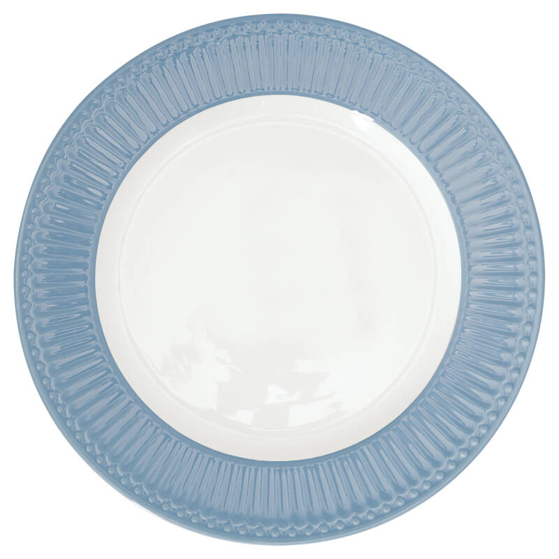 GreenGate Dinner Plate Alice Sky Blue 26,5 cm