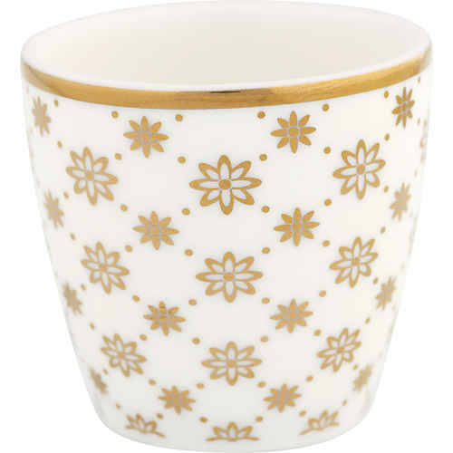 GreenGate Eierbecher Egg Cup Small Laurie Gold