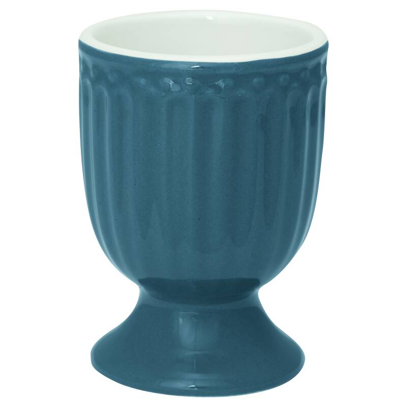 GreenGate Egg Cup Alice Ocean Blue