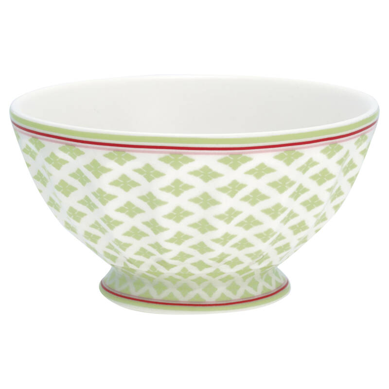 GreenGate French Bowl XLarge Sasha Green