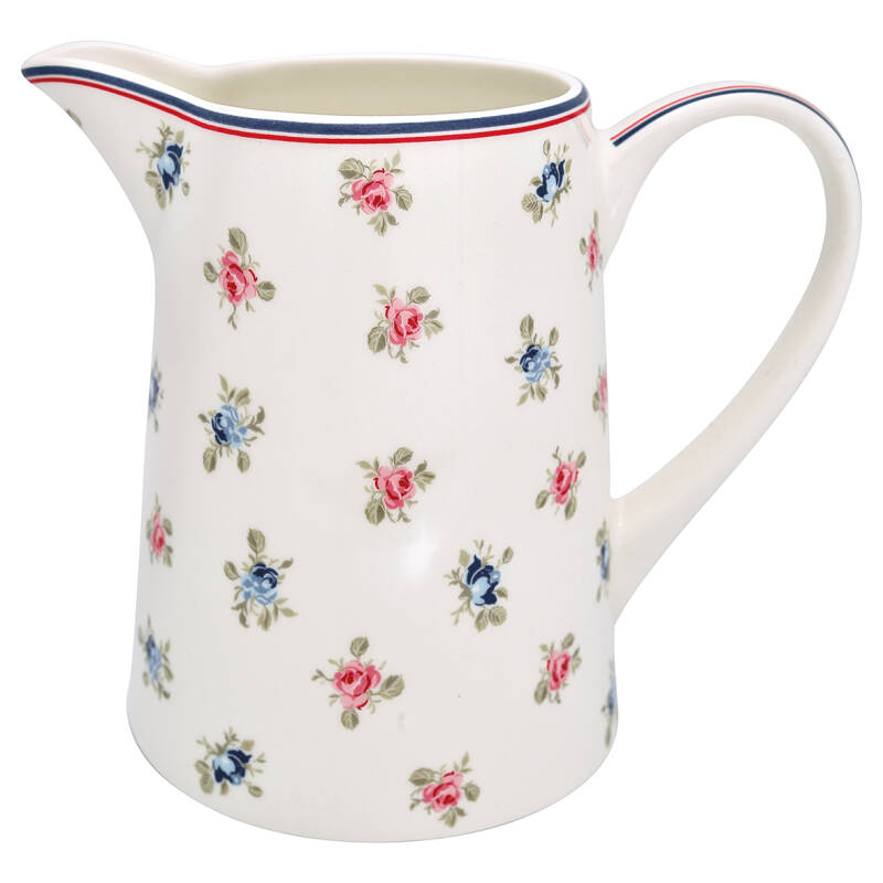 GreenGate Jug Hailey White 1 L