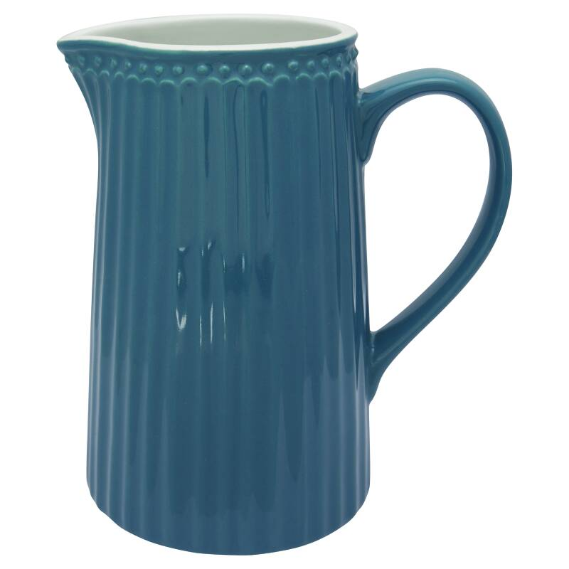 GreenGate Jug Alice Ocean Blue 1 L