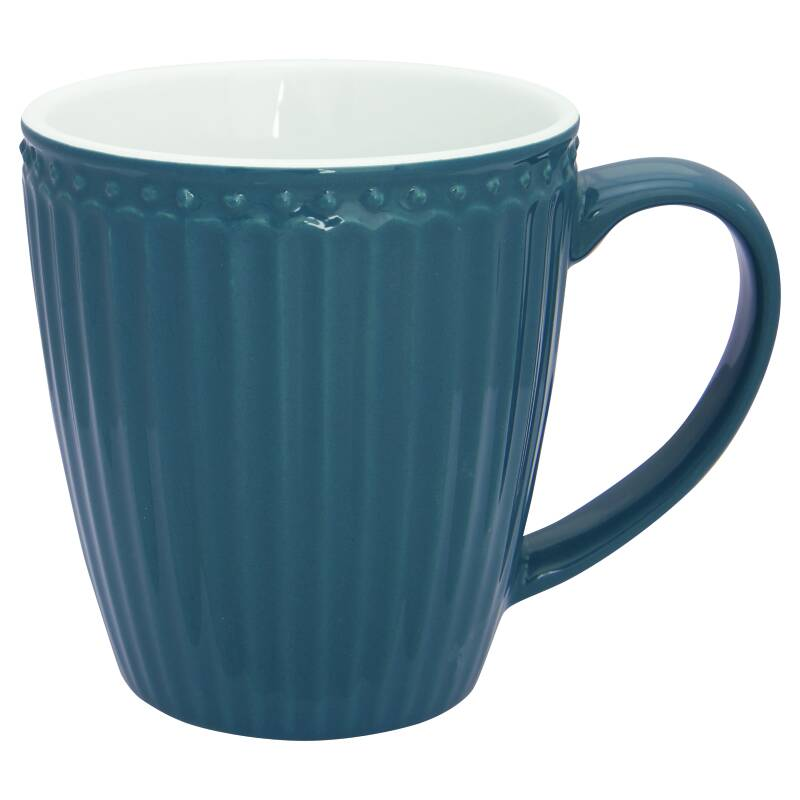 GreenGate Mug Alice Ocean Blue