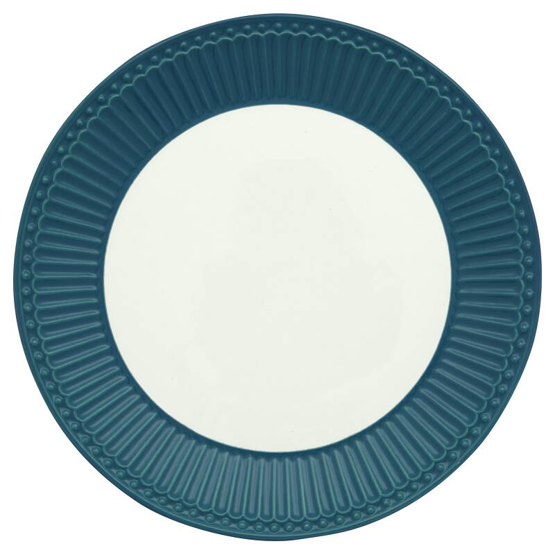 GreenGate Plate Alice Ocean Blue