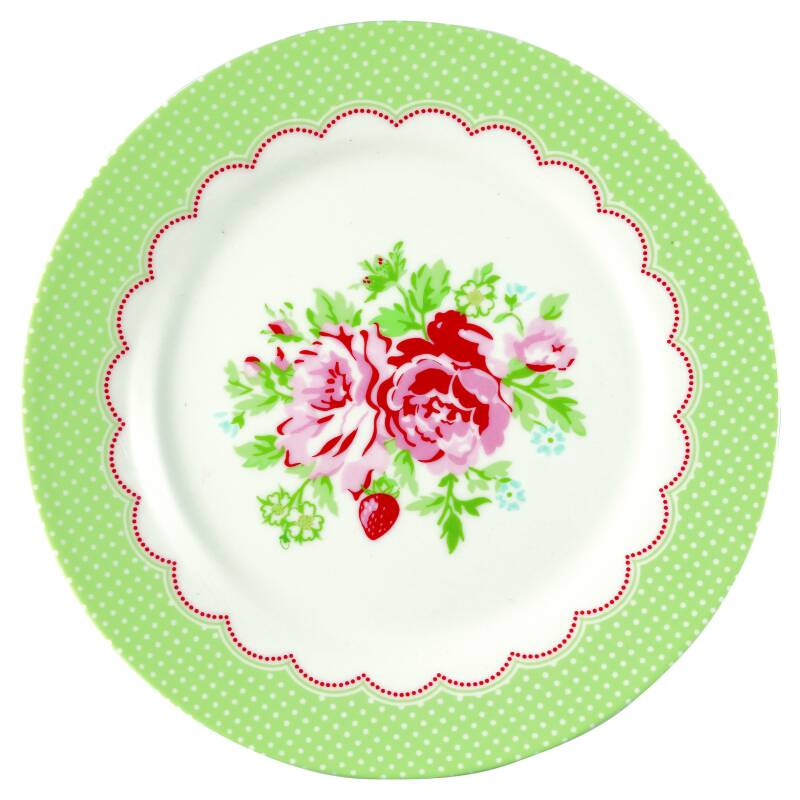 GreenGate Plate Mary White