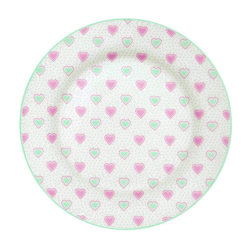 GreenGate Plate Penny White