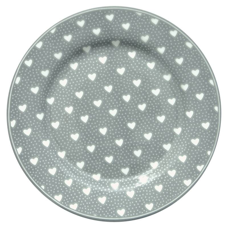 GreenGate Plate Penny Grey