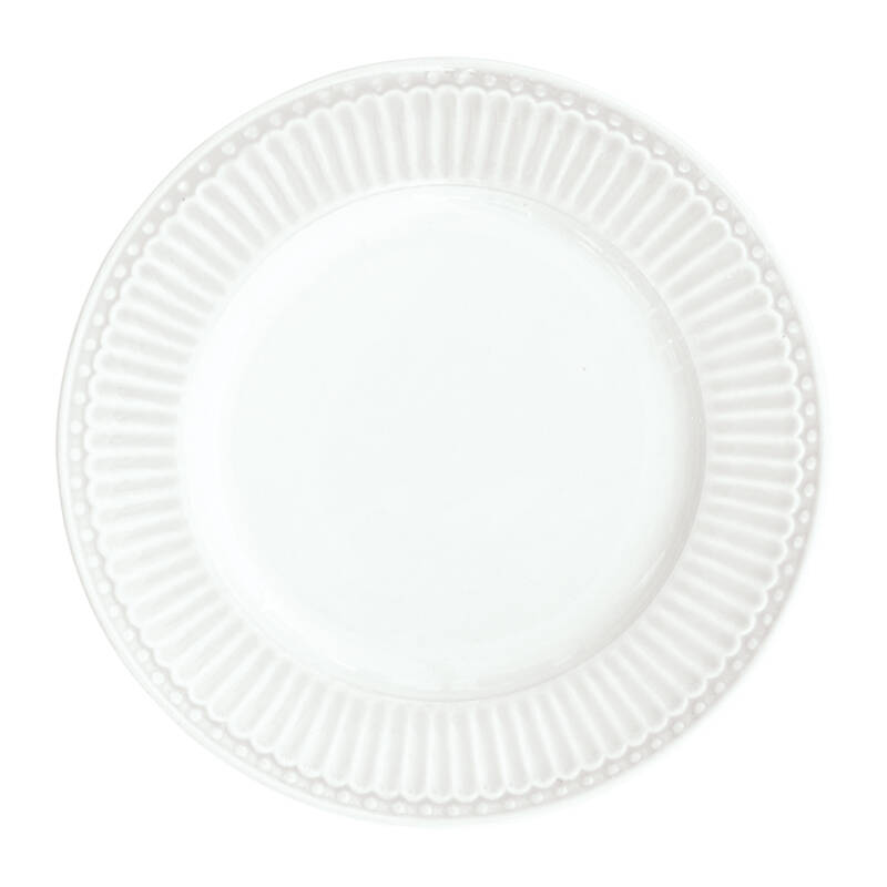 GreenGate Plate Small Alice White 17,5 cm