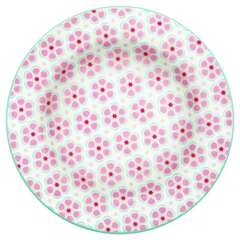 GreenGate Small Plate Leah Pale Pink