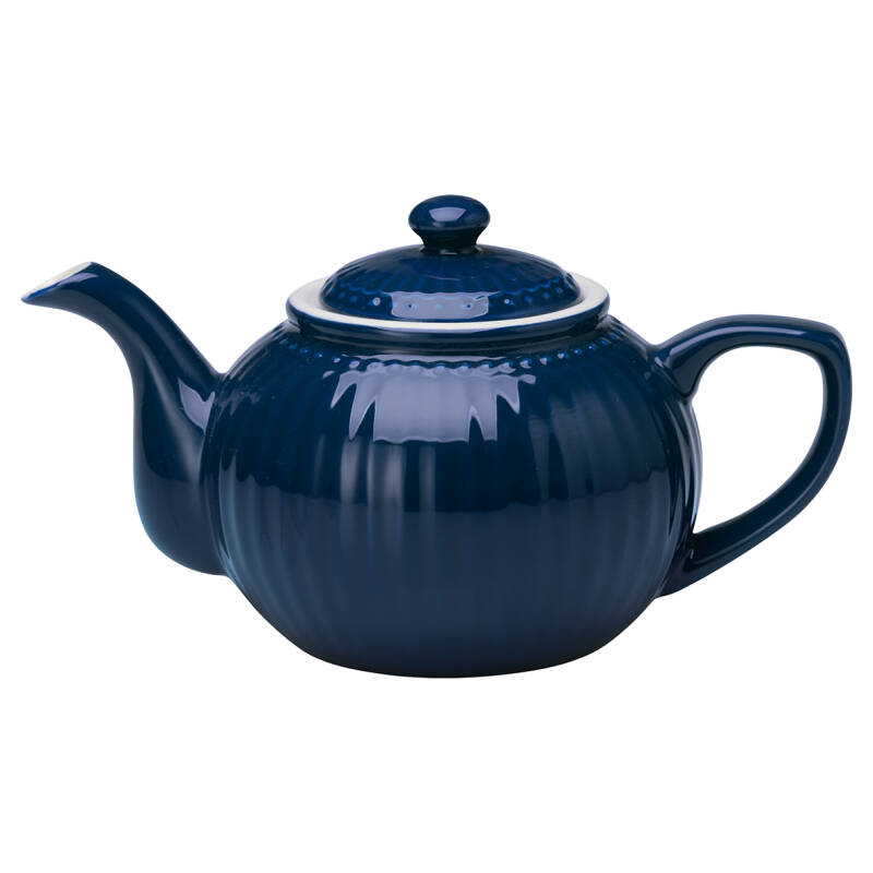 GreenGate Teapot - Alice Dark Blue