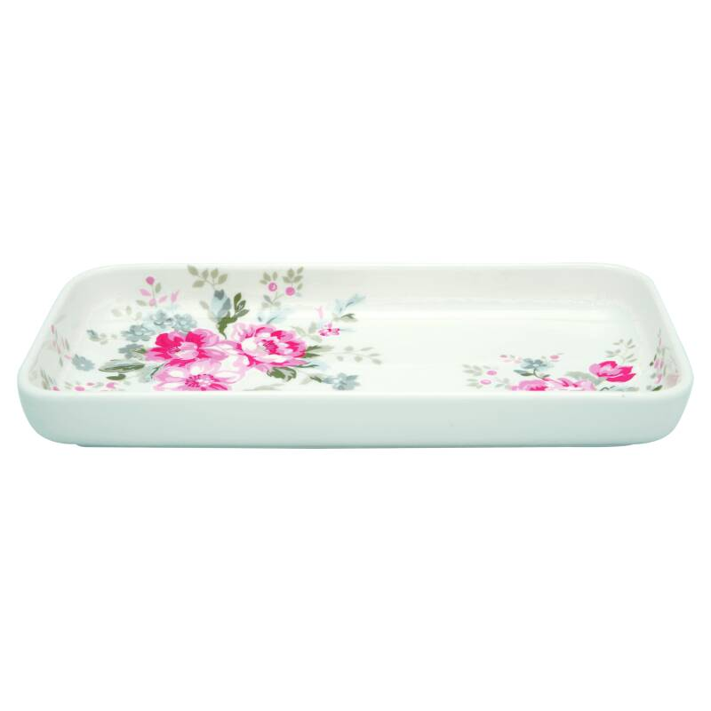 GreenGate Plate / Small Tray Elouise White