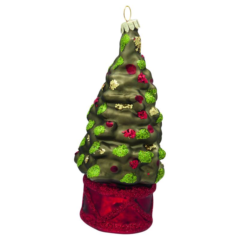 GreenGate Xmas Ornament Glass Christmas Tree Green
