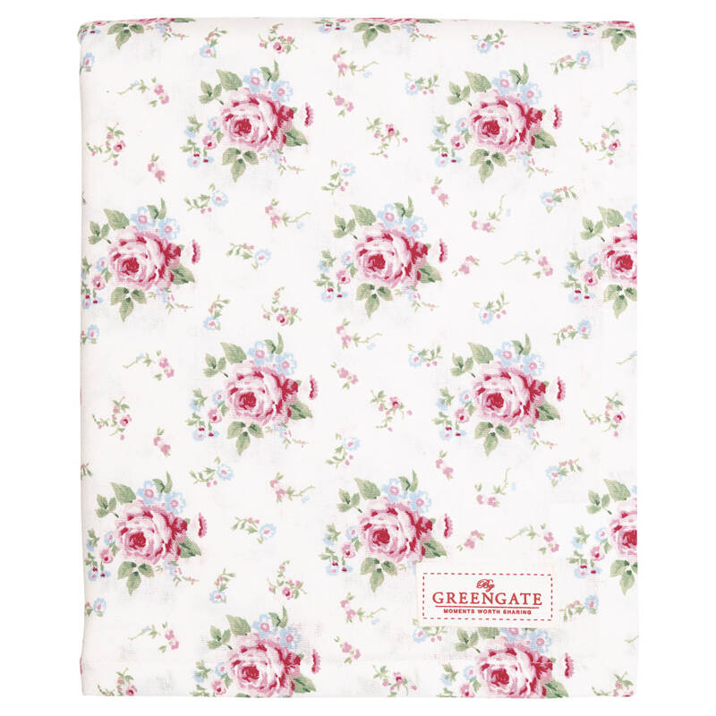GreenGate Table cloth merly white