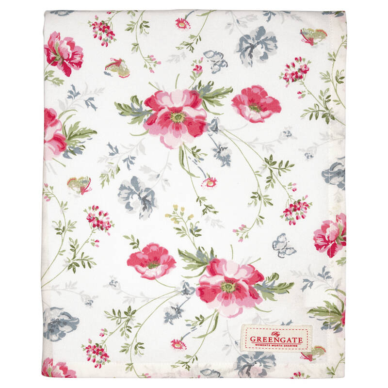GreenGate Tablecloth meadow white