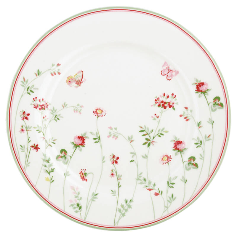 Greengate Plate Camille White