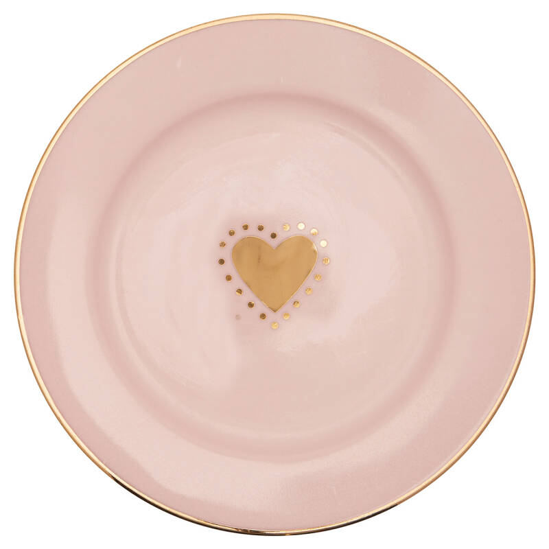 GreenGate Small Plate Penny Gold 15 cm