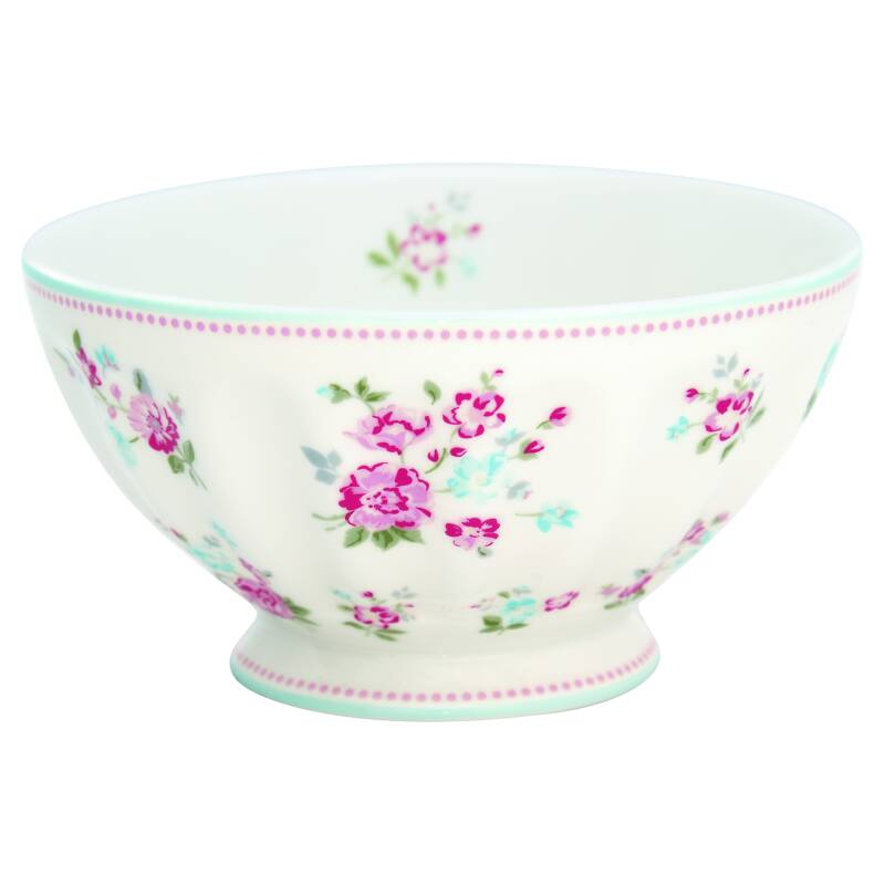 GreenGate French Bowl Xlarge Sonia White