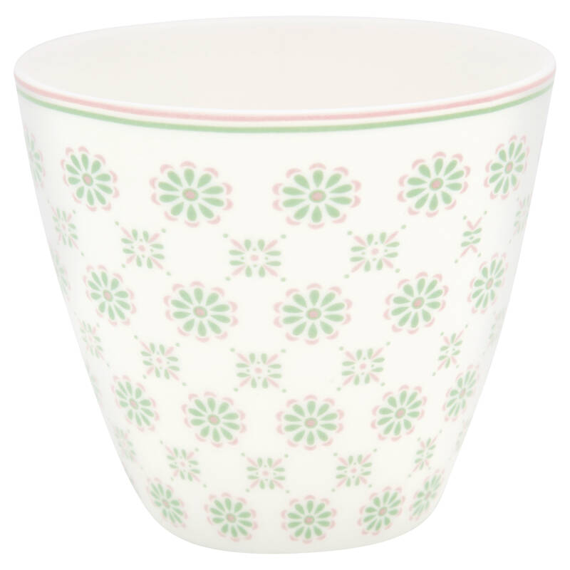 GreenGate Latte cup Mila white.
