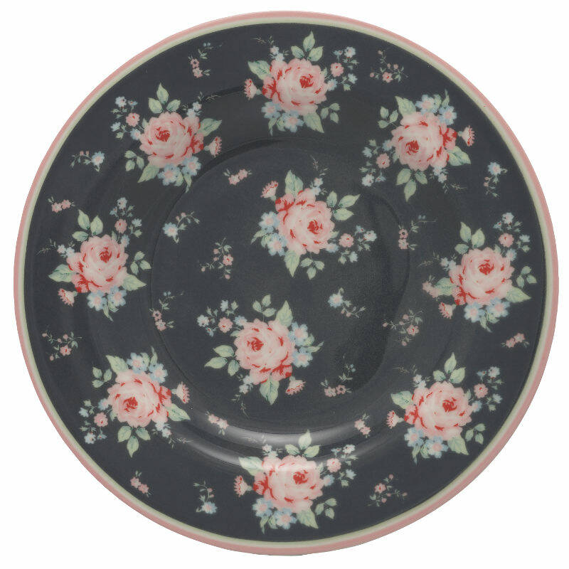 GreenGate Small Plate Marley Dark Grey